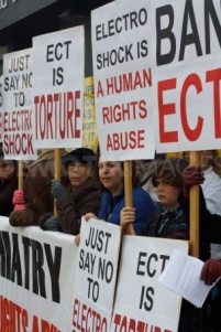 ECT protest